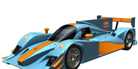 Gulf Racing plans to field two Lola LMP2 race cars in the 2012 World Endurance Championship.