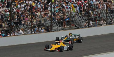 The Rahal Letterman Lanigan IndyCar team had success with Bertrand Baguette at the 2011 Indianapolis 500.
