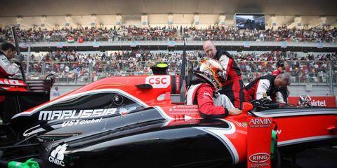 The Virgin Formula One team wants to wear the Marussia name in 2012.