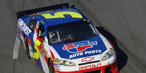 NASCAR driver Mark Martin may end up with a part-time ride for the 2012 season.