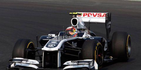 Formula One driver Pastor Maldonado has used up eight engines so far this season.