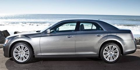 Sales of the Chrysler 300 sedan helped propel the automaker in October.