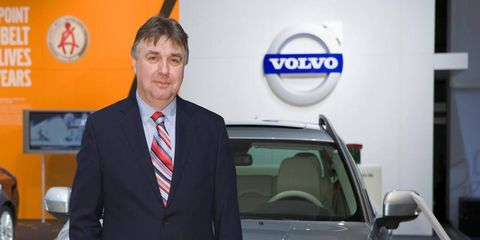 Peter Horbury moved Volvo design away from its boxy roots.