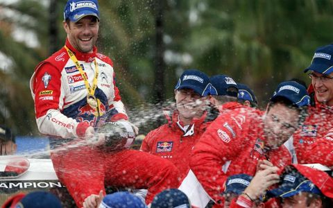 Sebastien Loeb is the king of the WRC once again after his triumph on Sunday in Spain.