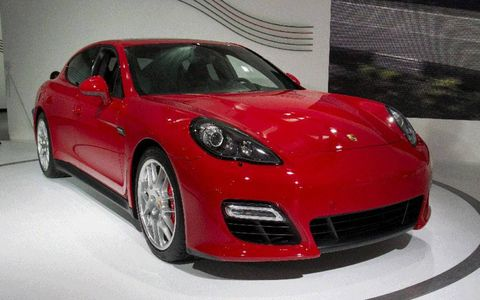 Porsche adds the GTS model to its Panamera lineup this week at the Los Angeles Auto Show.