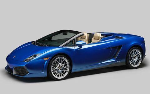 The Lamborghini Gallardo LP 550-2 Spyder is the first rear-drive roadster in Lamborghini's lineup in more than a decade.