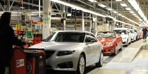 Saab's assembly lines have been idle since June.