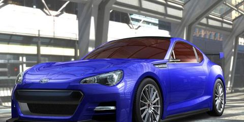 The Subaru BRZ coupe is one of many concepts to premiere at next week's Los Angeles auto show.