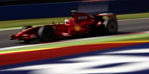 Kimi Räikkönen during the 2011 Formula 1 season.