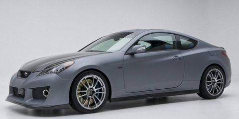 Hyundai has released a video that gives a closer look at the Genesis Hurricane SC that debuted at the SEMA show.