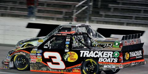 Austin Dillon has carried No. 3 throughout his Truck Series career.