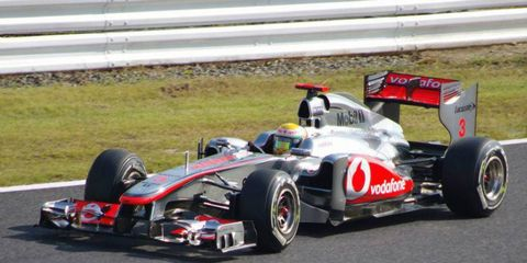 Formula One driver Lewis Hamilton hopes to overcome personal obstacles in 2012.
