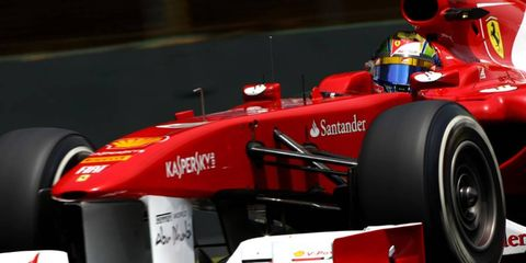 Ferrari won just one Formula One race in 2011.