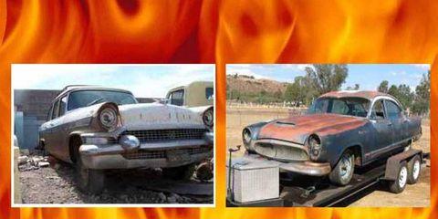 Project Car Hell: 1957 Packard Clipper vs. 1955 Kaiser Manhattan