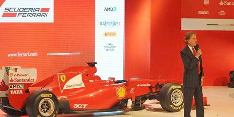 Ferrari's Formula One team is a source of pride and passion for CEO Luca Cordero di Montezemolo.