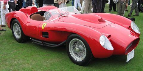 The Ferrari 250 Testa Rossa was styled by Sergio Scaglietti.