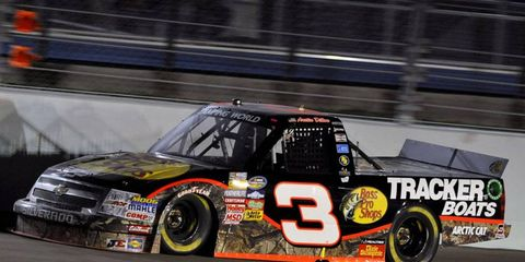 Austin Dillon ran the legendary No. 3 in the Camping World Truck Series this year.