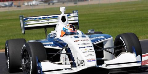 Indy Lights champ Josef Newgarden will drive for Sarah Fisher Racing in the IndyCar series in 2012.
