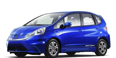 The Honda Fit EV launches next year in the U.S. market.