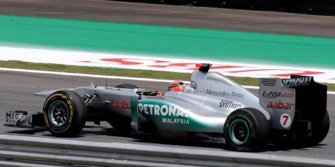 Mercedes-Benz is adding AMG to the name of its Formula One team for 2012.
