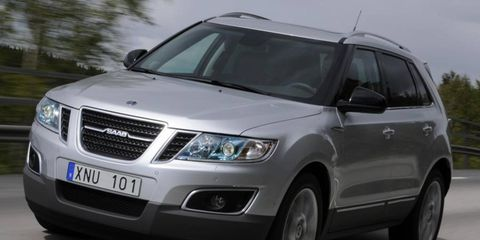 Saab plans to launch the 9-4X crossover in Europe later this year.