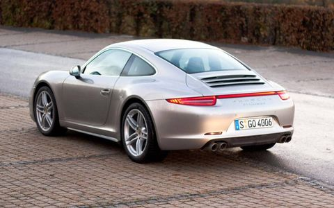 The 2013 Porsche 911 Carrera 4 and Carrera 4S are the first all-wheel-drive 911 models of the 991-generation.