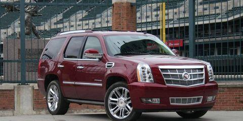 Driver's Log Gallery: 2011 Cadillac Escalade Hybrid Platinum