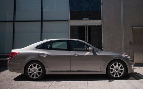 There's no doubt that the 2012 Hyundai Equus Ultimate provided a comfortable ride. Yet the suspension was a bit too floaty, and control inputs felt artificial.