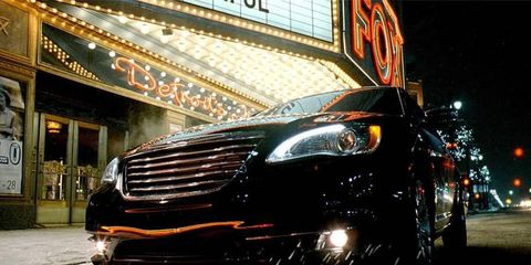 Chrysler's Eminem commercial was among the top five most-viewed car ads of the year.