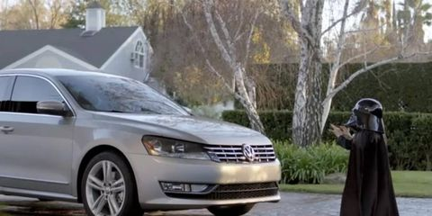 VW's ad was watched millions of times on YouTube and other places.