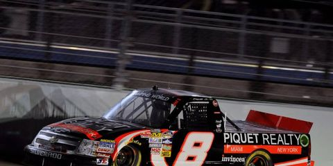 Nelson Piquet Jr. will return to the Truck Series in 2012 and compete in a full season
