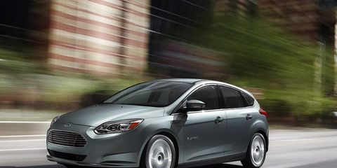 The 2012 Ford Focus electric is expected to get at least 100 mpg-e.