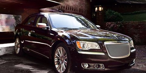 The Luxury Series edition of the Chrysler 300 goes on sale in the first quarter of 2012.