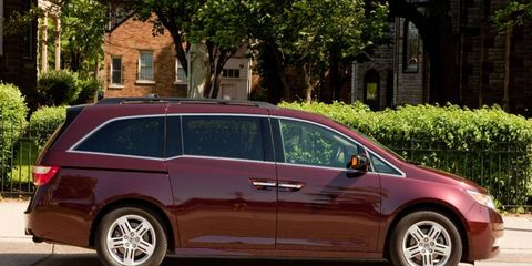 In our first three months with the 2011 Honda Odyssey, we averaged 21.8 mpg.