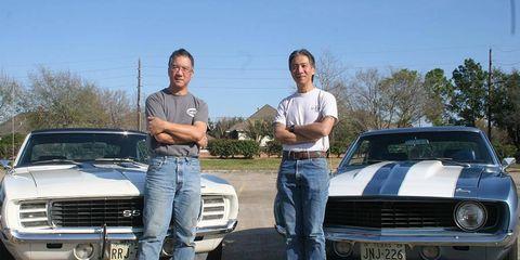 Tom and Kent Ng.
