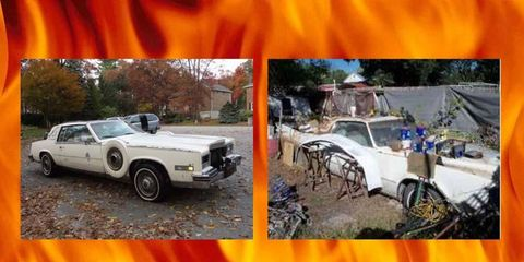 You'll sink quickly into the Lake of Fire with a Cadillac Eldorado chained to your ankle.