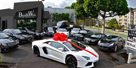 Rent-an-Aventador: Exotic-car rental companies cater to client needs