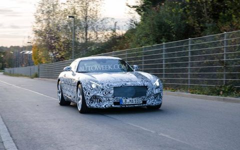 The Mercedes-Benz GT AMG will debut at the German Grand Prix in 2014.