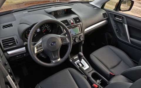 The interior of the 2014 Subaru Forester should be improved over the 2013 model.