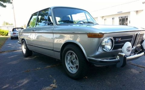 This 1972 BMW 2002tii was restored in 2008.