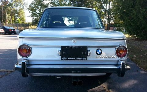 The 2002tii was only produced from 1968 to 1976.