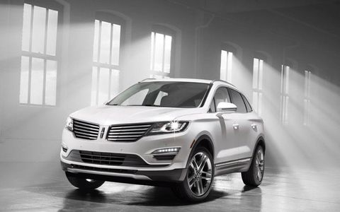 First look at the new 2015 Lincoln MKC.