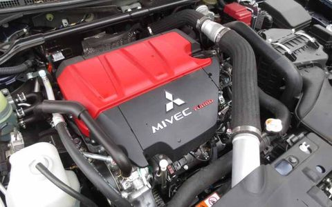 The MIVEC 2.0 engine makes a very nervous 291 horsepower.