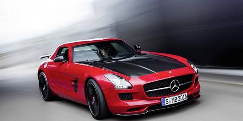 The Mercedes-Benz SLS AMG Final Edition will be the last model before the new, smaller coupe debuts.