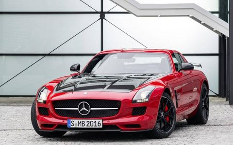 The The Mercedes-Benz SLS AMG Final Edition will debut at the LA Auto Show.