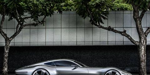 The AMG Vision Gran Turismo concept will appear in Polyphony Digital's Gran Turismo 6 video game.