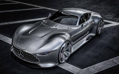 Sadly the AMG Vision Gran Turismo concept probably won't be produced.