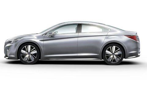 The Subaru Legacy Concept will debut in LA.