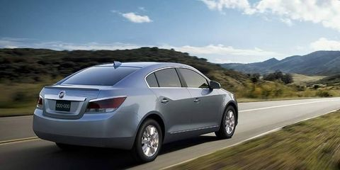 The Buick LaCrosse will get an eAssist feature for 2012.