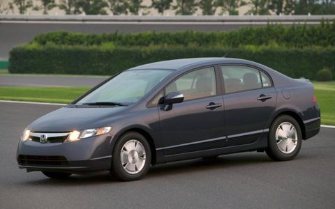 The notably dependable Honda Civic is another great used-car option.